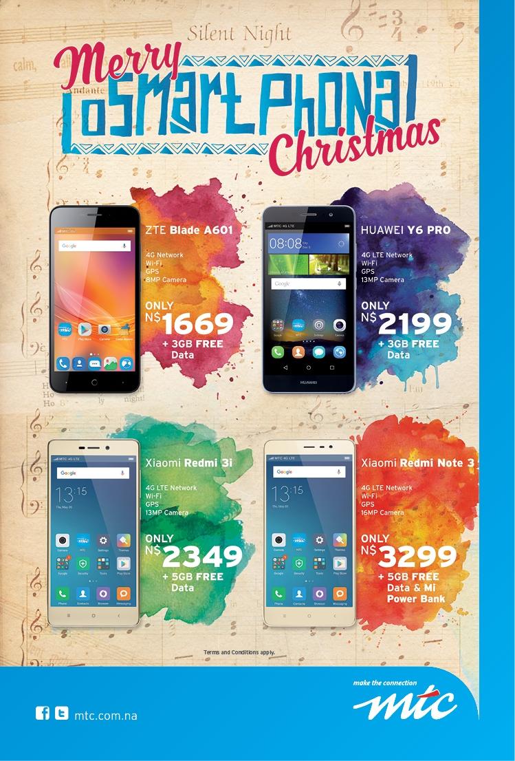 Advantage Y&R Merry oSmartPhona Christmas Retail ad