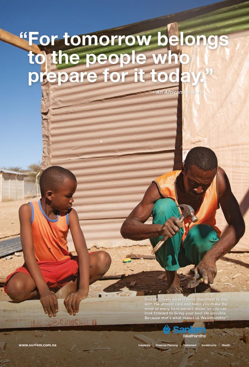 Advantage Y&R Sanlam African Proverbs