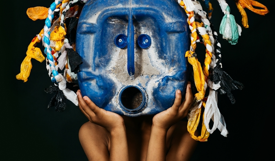 Advantage Y&R African Trash Masks Greenpeace